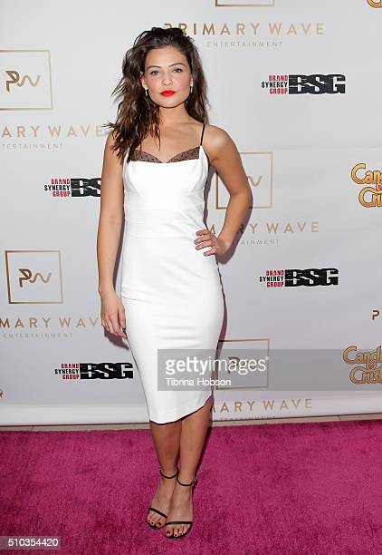 Danielle Campbell attends the Primary Wave 10th Annual PreGrammy Party at The London West Hollywood on February 14 2016 in West Hollywood California