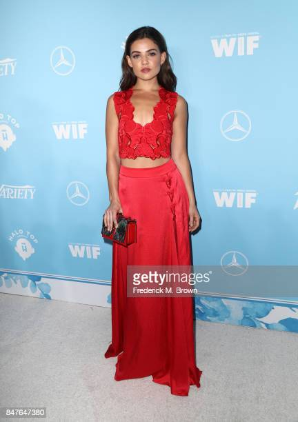 Danielle Campbell attends the Variety and Women In Film's 2017 PreEmmy Celebration at Gracias Madre on September 15 2017 in West Hollywood California