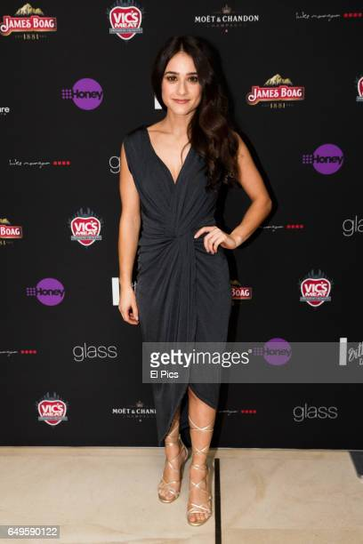 Danielle Catanzariti arrives ahead of the Channel 9 89th Academy Awards Charity Lunch at glass brasserie on February 27 2017 in Sydney Australia
