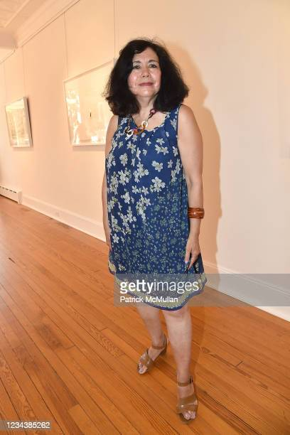 """Danielle Cheng attends the release of Christophe von Hohenberg's new book """"The White Album of The Hamptons"""" and Bruce Helander's """"Collages and Erased..."""