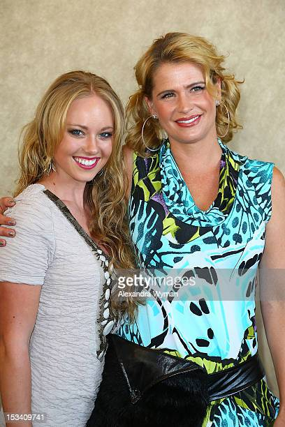 Danielle Chuchran and Kristy Swanson at 12 Dogs of Christmas Great Puppy Rescue Los Angeles Preview held at AMC Century City 15 theater on October 4...