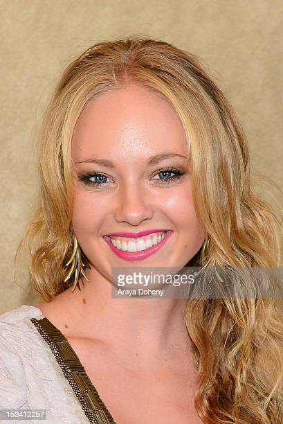 Danielle Chuchran arrives for the sneak preview of '12 Dogs Of Christmas Great Puppy Rescue' at AMC Century City 15 theater on October 4 2012 in...
