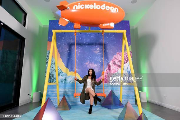Danielle Cohn attends the 2019 Nickelodeon Kids' Choice Awards Slime Soiree on March 22 2019 in Venice California