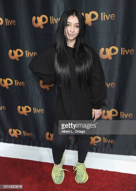 Danielle Cohn attends UpLive Hosts Party Concert held at Starwest Studios on December 16 2018 in Burbank California