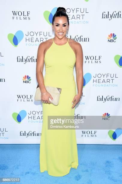 Danielle Conti attends The Joyful Revolution Gala In New York City hosted by Mariska Hargitay's Joyful Heart Foundation on May 22 2017 in New York...
