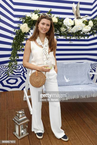 Danielle Copperman at the '355' cocktail party with DIRECTV and The Hollywood Reporter on the Grey Goose Terrace on May 10 2018 in Cannes France