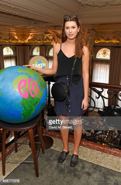 Danielle Copperman attends the Eco Age Earth Day party at The London EDITION on April 19 2018 in London England