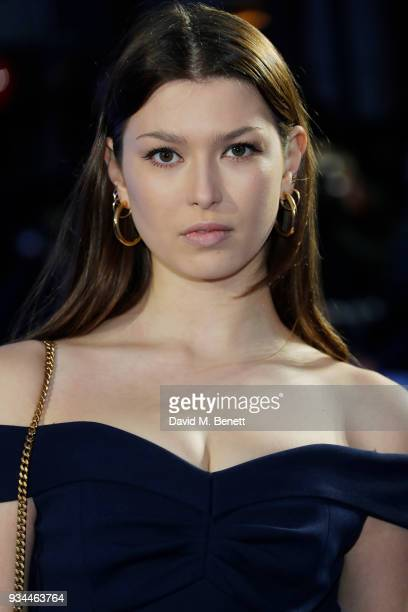 Danielle Copperman attends the European Premiere of 'Ready Player One' at the Vue West End on March 19 2018 in London England