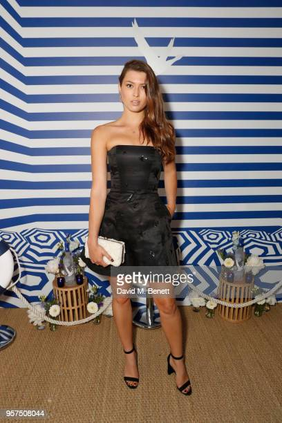 Danielle Copperman attends the Grey Goose soiree at Nikki Beach joined together with other VIP guests in a celebration of iconic moments in film at...