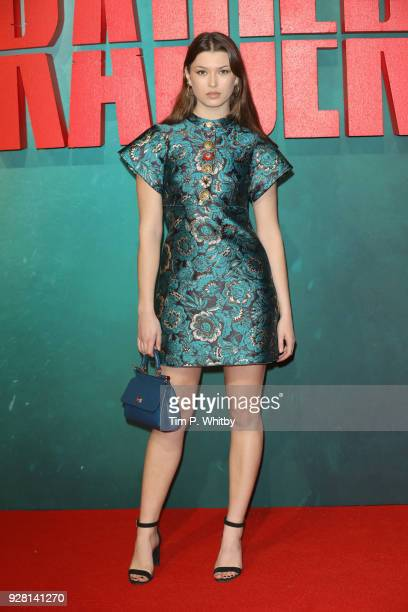 Danielle Copperman attends the 'Tomb Raider' European premiere at the Vue West End on March 6 2018 in London England
