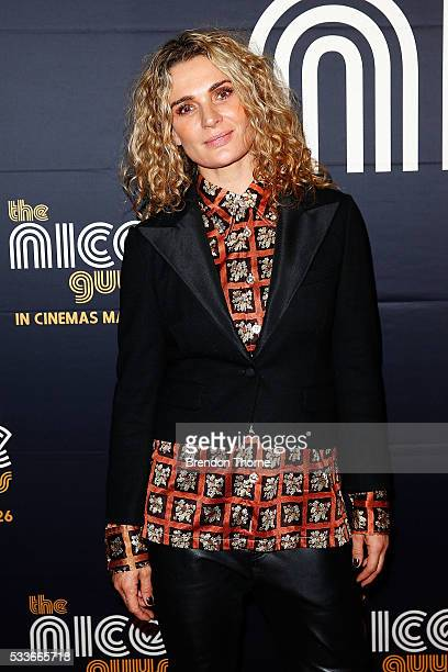 Danielle Cormack arrives ahead of The Nice Guys Sydney Premiere at Event Cinemas George Street on May 23 2016 in Sydney Australia