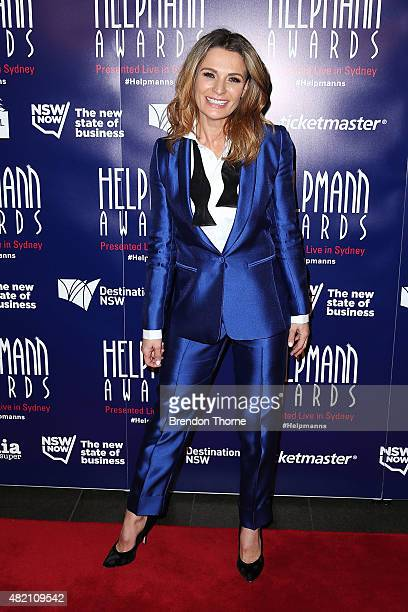 Danielle Cormack arrives at the 2015 Helpmann Awards at the Capitol Theatre on July 27 2015 in Sydney Australia
