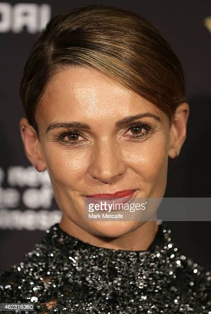Danielle Cormack arrives at the 4th AACTA Awards Luncheon at The Star on January 27 2015 in Sydney Australia