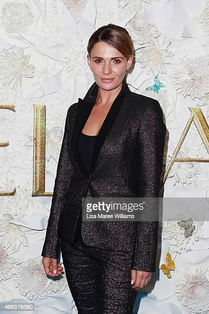Danielle Cormack arrives at the Australian premiere of Disney's Cinderella at the State Theatre on March 15 2015 in Sydney Australia
