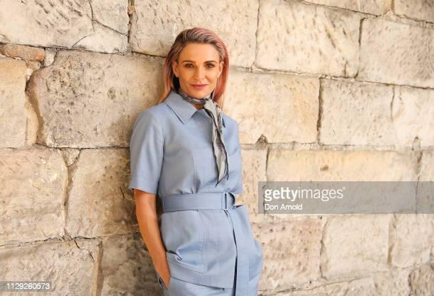Danielle Cormack attends Secret City Under The Eagle Media Launch on February 13 2019 in Sydney Australia