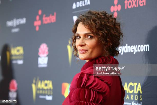 Danielle Cormack attends the 7th AACTA Awards Presented by Foxtel | Ceremony at The Star on December 6 2017 in Sydney Australia