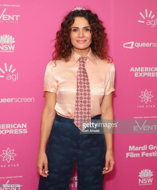 Danielle Cormack attends the Black Divaz world premiere at Event Cinemas George Street on February 28 2018 in Sydney Australia To coincide with the...