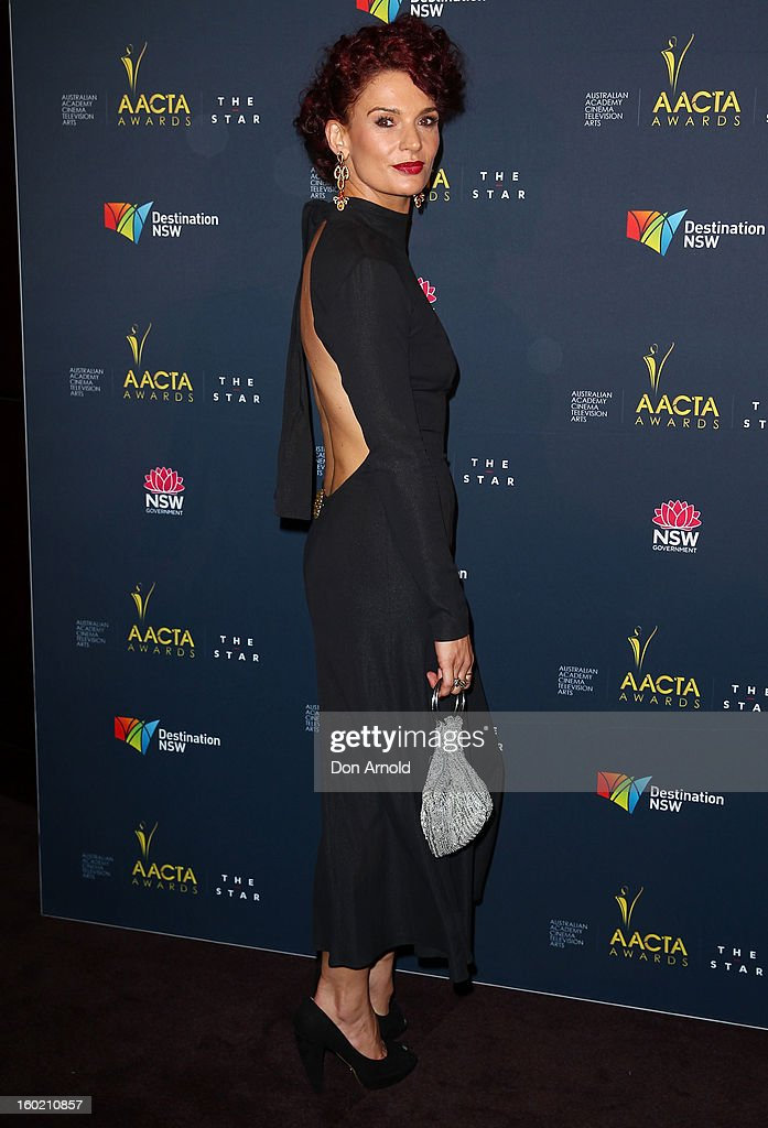 Danielle Cormack poses during the 2nd Annual AACTA Awards Luncheon at The Star on January 28, 2013 in Sydney, Australia.