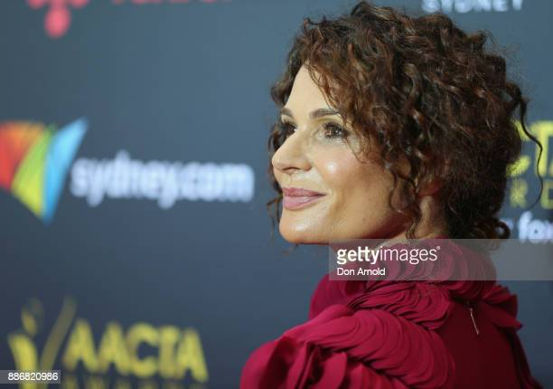 Danielle Cormack poses during the 7th AACTA Awards at The Star on December 6 2017 in Sydney Australia