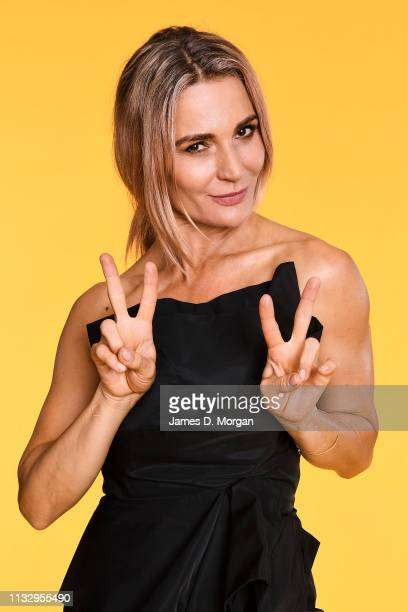 Danielle Cormack poses for a portrait at the 2019 Australian LGBTI Awards at The Star on March 01 2019 in Sydney Australia