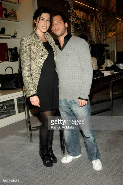 Danielle Corona and Jason Salstein attend HUNTING SEASON at EDON MANOR Hosted by Kathryn Neale Shaffer and Alexandra Fritz at Edon Manor on January...