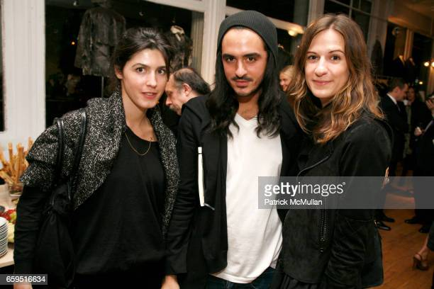Danielle Corona Ryan Korban and Alexandra Fritz attend David Lauren hosts celebration for ALTERATION by Greg Lauren at 28 Wooster Street on October...