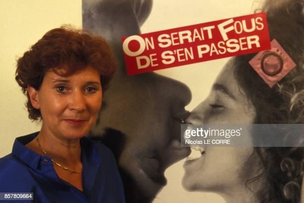 Danielle Dahl directrice de la premierer agence matrimoniale pour seropositifs le 28 juillet 1994 en France