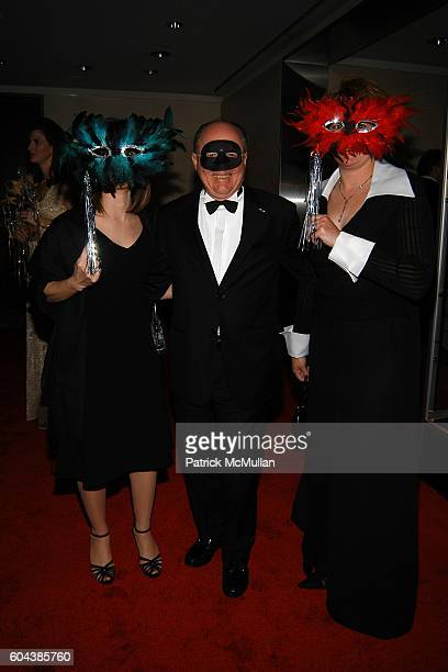 Danielle de Pero John Crawford and Kristie Conti attend CHRISTIE'S BLACK and WHITE BALL To Celebrate The Plaza Hotel Auction at Christie's on March...