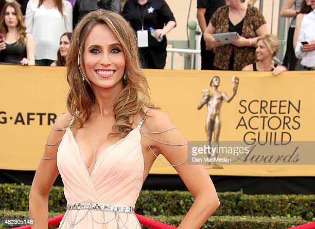Danielle Demski attends TNT's 21st Annual Screen Actors Guild Awards at The Shrine Auditorium on January 25 2015 in Los Angeles California