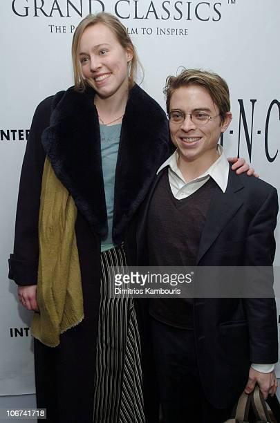Danielle DuClos and Alexander Nixon during The Grand Classics Screening Hosted by Gael Garcia Bernal Sponsored by INC New Mens Collection at SoHo...