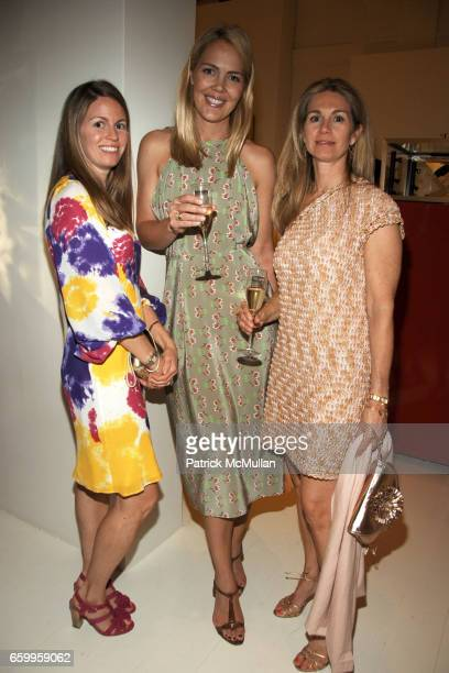 Danielle Egan Jessica O'Callaghan and Stephanie Small attend CARTIER HARPERS BAZAAR celebrate Cartier's 100th Anniversary in America Hosted By Glenda...