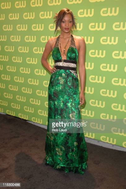Danielle Evans during The CW Upfront Red Carpet at Madison Square Garden in New York New York United States