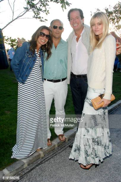 Danielle Ganek David Ganek James Coleman and Caitlin Fowler attend Southampton Fresh Air Home's 23rd Annual American Picnic at a Private Residence on...
