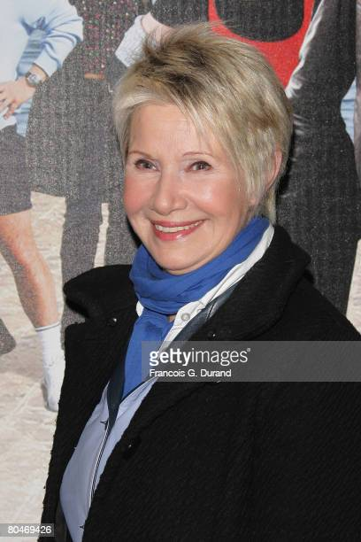 Danielle Gilbert arrives to attend the Disco premiere on April 1 2008 in Paris France