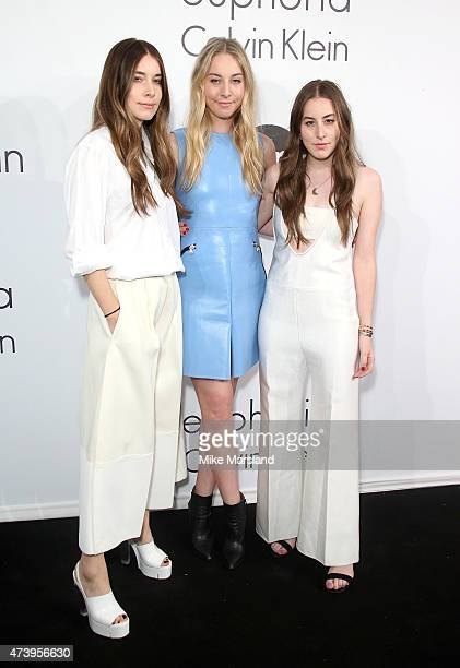 Danielle Haim Este Haim and Alana Haim attend the Calvin Klein party during the 68th annual Cannes Film Festival on May 18 2015 in Cannes France