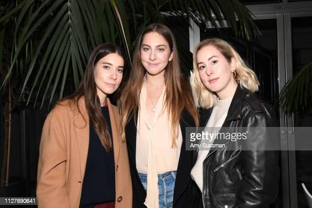 Danielle Haim Este Haim and Alana Haim attend the screening of Pen15 at NeueHouse Hollywood on February 05 2019 in Los Angeles California