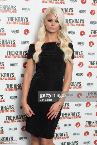 Danielle Harold attends 'The Krays Dead Man Walking' UK premiere at The Genesis Cinema on September 9 2018 in London England