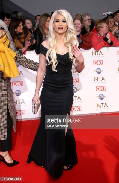Danielle Harold attends the National Television Awards 2020 at The O2 Arena on January 28 2020 in London England