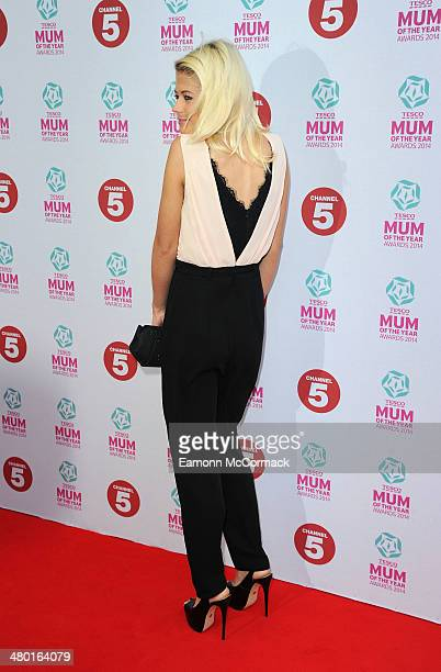 Danielle Harold attends the Tesco Mum of the Year awards at The Savoy Hotel on March 23 2014 in London England