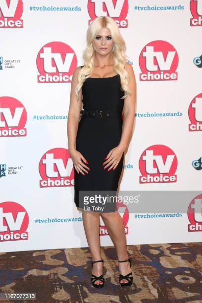 Danielle Harold attends The TV Choice Awards 2019 at Hilton Park Lane on September 9 2019 in London England