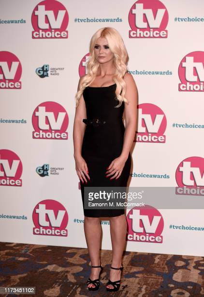 Danielle Harold attends The TV Choice Awards 2019 at Hilton Park Lane on September 09 2019 in London England