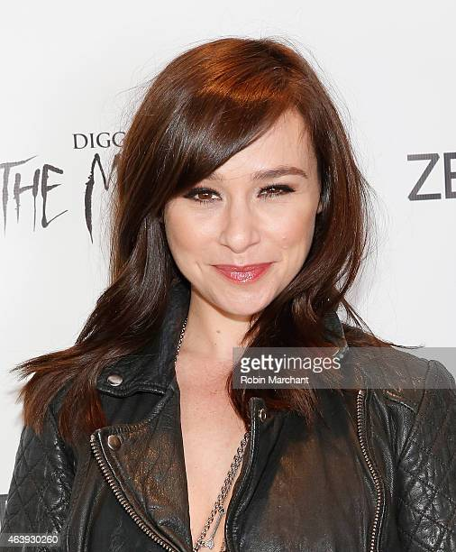 Danielle Harris attends 'Digging Up The Marrow' Los Angeles Special Screening at The Regent Theatre on February 19 2015 in Los Angeles California