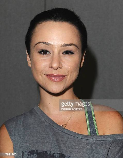 Danielle Harris attends the London Film and Comic Con at Olympia Exhibition Centre on July 7 2012 in London England