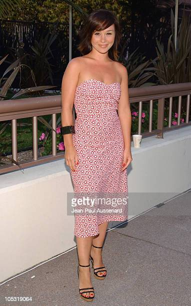 Danielle Harris during NBC Summer Press Tour Day One at Century Plaza Hotel in Century City California United States