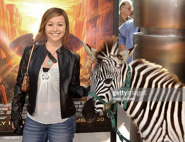 Danielle Harris during 'The Wild Thornberrys Movie' Premiere at Cinerama Dome in Hollywood California United States