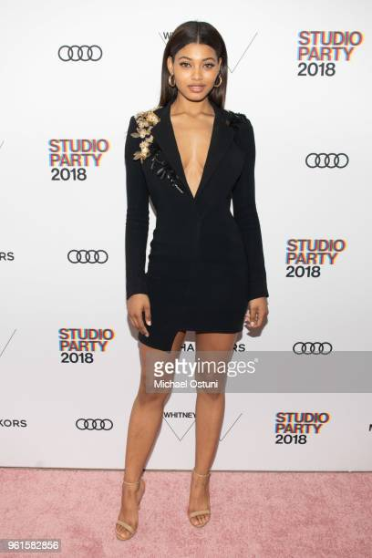Danielle Herrington attend the Whitney Museum Celebrates The 2018 Annual Gala And Studio Party at The Whitney Museum of American Art on May 22 2018...