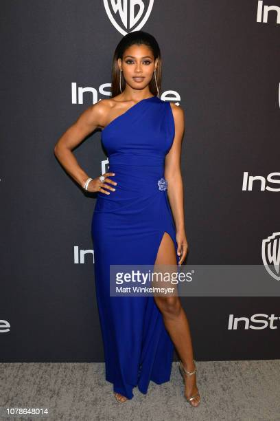 Danielle Herrington attends the 2019 InStyle and Warner Bros 76th Annual Golden Globe Awards PostParty at The Beverly Hilton Hotel on January 6 2019...