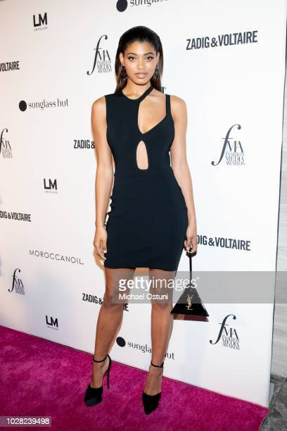 Danielle Herrington attends The Daily Front Row 6th Annual Fashion Media Awards at Park Hyatt New York on September 6 2018 in New York City