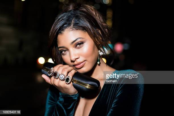 Danielle Herrington attends Vanity Fair's BestDressed 2018 in the Financial District on September 12 2018 in New York City