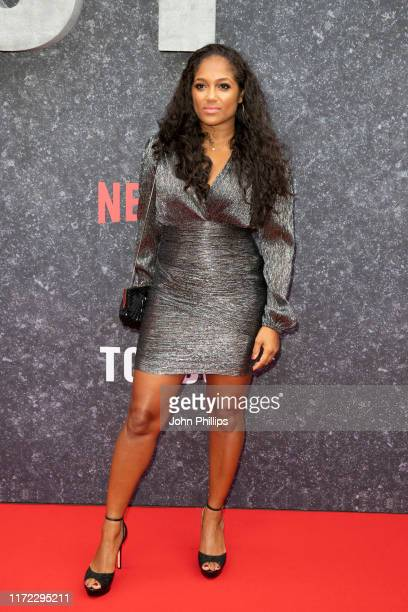 Danielle Isaie attends the Top Boy UK Premiere at Hackney Picturehouse on September 04 2019 in London England